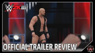 WWE 2K16 - Official Trailer: RAISE SOME HELL (REVIEW)