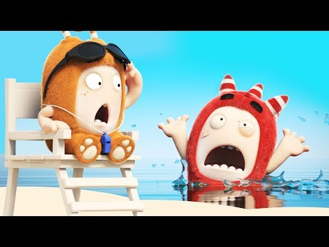 Oddbods - LIFEGUARD | NEW Full Episodes | Funny Cartoons | Oddbods & Friends