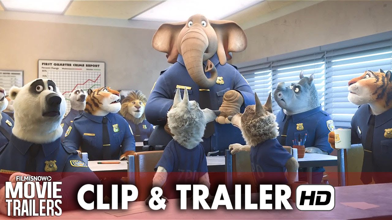 ZOOTOPIA New Clip 'Elephant in the Room' + Trailer - Disney animation [HD]