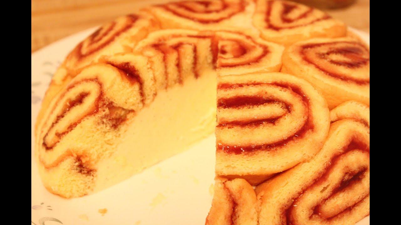 Sponge Cake Dessert Charlotte