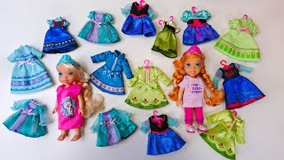 Elsa and Anna toddlers need new clothes!!