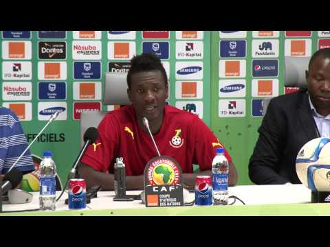 Ghana - Press conferences (27/01) - Orange Africa Cup of Nations, EQUATORIAL GUINEA 2015