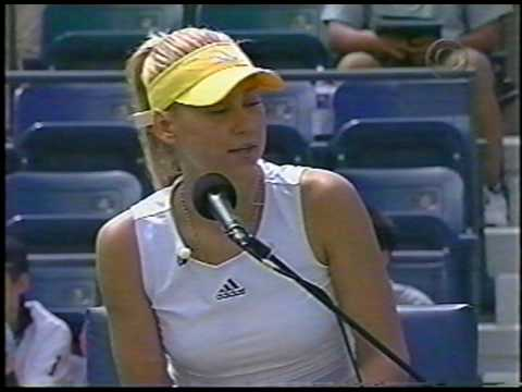 Agassi Vs Roddick w/ Kournikova Chair Umpire 1/3