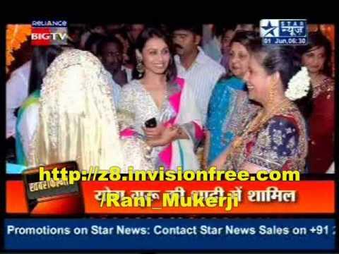 rani mukerji ,Kareena ,Saif at Yoga trainer Payel-Manish wedding