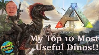 Ark - Top 10 most useful Dinos