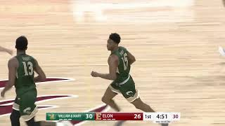 2018-19 W&M Men's Basketball Highlights at Elon