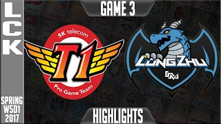 SKT vs LZ Highlights Game 2 - LCK Week 5 Day 1 Spring 2017 - SK Telecom T1 vs Longzhu Gaming G2