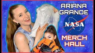 Ariana Grande NASA MERCH Unboxing & Try-On   Sara Harlee