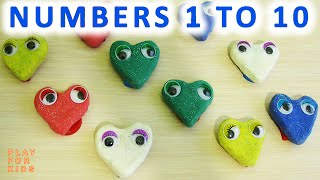 Numbers 1 to 10 ✿ Learn To Count from 1 to 10 ✿ Learn numbers