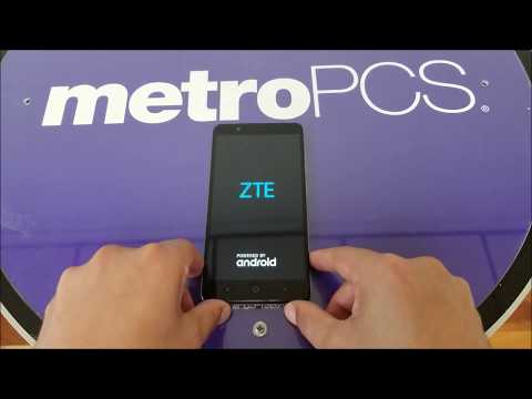 ZTE Blade ZMAX How To Hard Reset. PIN.Pattern.Password removal