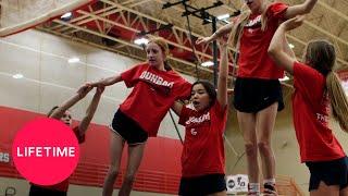 Cheerleader Generation: Elissa Keeps Missing Her Stunt (S1, E5) | Lifetime