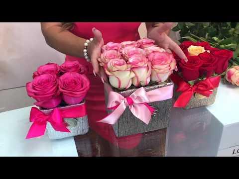 LOVELY ROSES TUTORIAL (CAJA DE ROSAS PEQUEÑA)