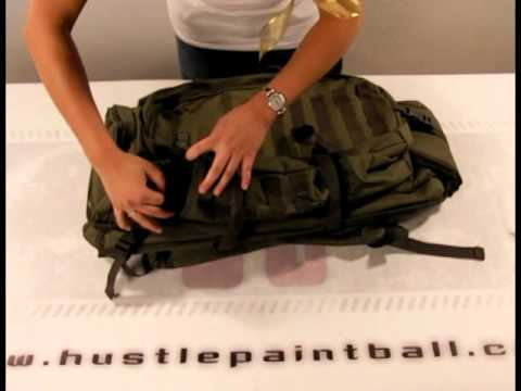 Gen X Global Tactical Backpack Review and Demo by HustlePaintball.com