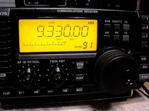 Radio Damascus 9330 kHz. 27.1.2011.