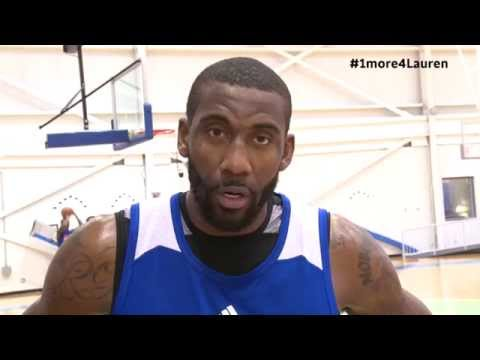 Amar'e Stoudemire's Message For Lauren Hill