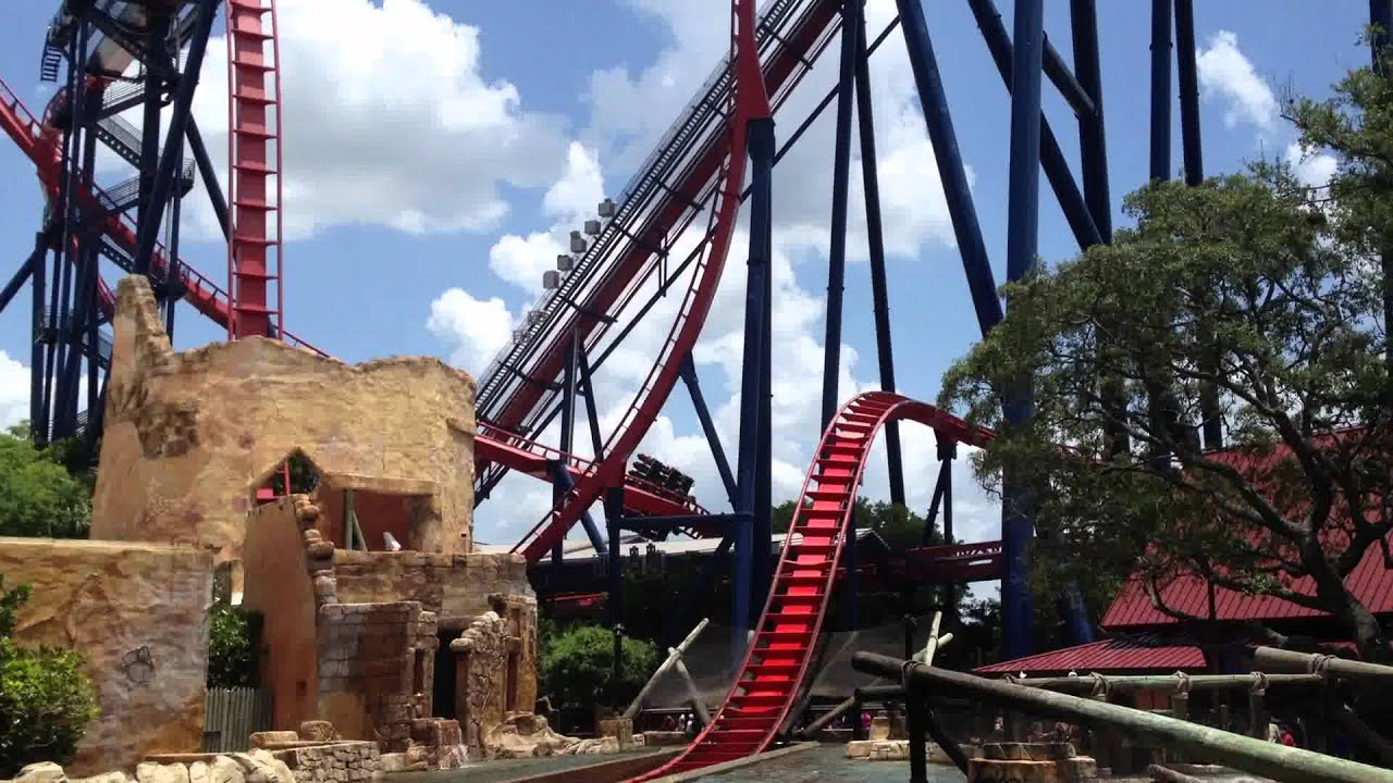 Sheikra The Worlds Scariest Rollercoaster At Busch Gardens Tampa Youtube
