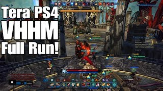 Tera PS4 - Velik's Hold Hard Mode (Full Run)