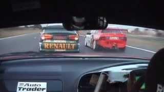 BTCC 1999 Snetterton - Yvan Muller and James Thompson Crash