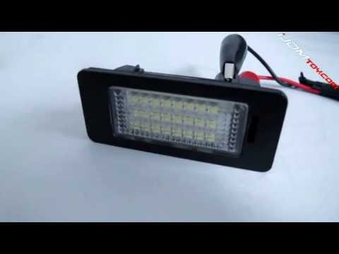 Compare Stock License Plate Lights with LED License Plate Lamps