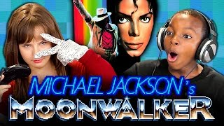 MICHAEL JACKSON'S MOONWALKER GAME (Teens React: Retro Gaming)