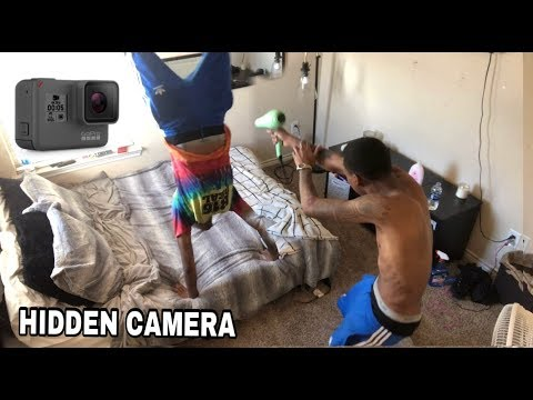HIDDEN BEDROOM CAMERA ON BOYFRIEND ! *MUST WATCH*