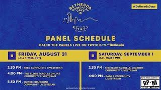 Bethesda Gameplay Day - Day 2 | Saturday, September 1 feat. The Elder Scrolls: Legends & RAGE 2 !!