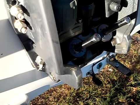 электрогидроподъемник для подвесного мотора