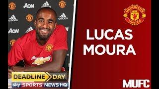 LUCAS MOURA MAN UTD TRANSFER NEWS | PSG - MANCHESTER UNITED £25M