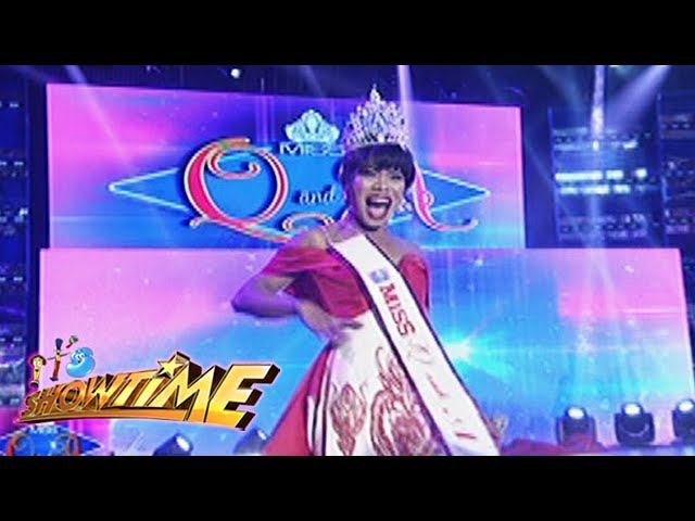 It's Showtime Miss Q & A: Elsa Droga steals the crown from Kristine!
