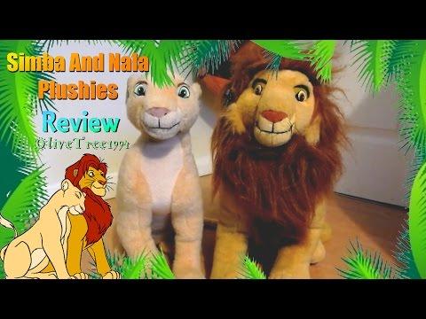 Applause Simba And Nala Plushies Review