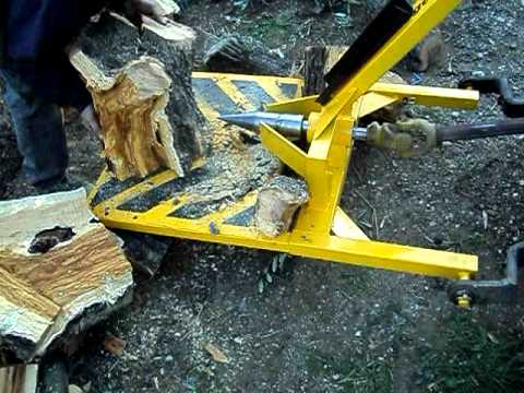 Σκισιμο ξυλων (ρίζες) μηχανοκίνητο σχιστήριο AVI Music Videos