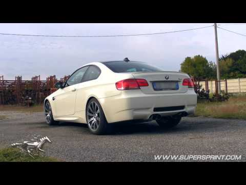 Supersprint Race Exhaust for M3 E92 - revving, acceleration, fitting job