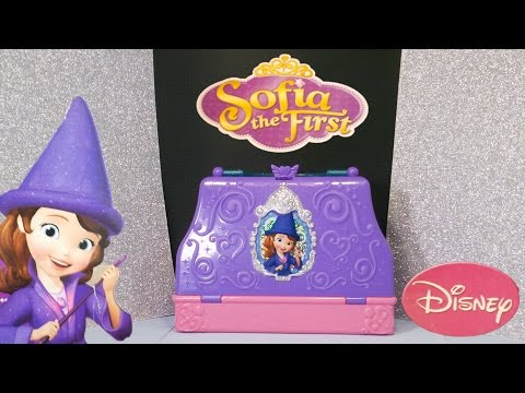 Unboxing the Sofia the First Magic Spells Bag and Toys