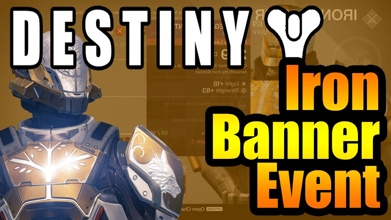 Destiny news iron banner legendary weapons armour list youtube