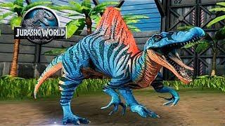 Спинозавр - Старый но не БЕСПОЛЕЗНЫЙ) Jurassic World The Game