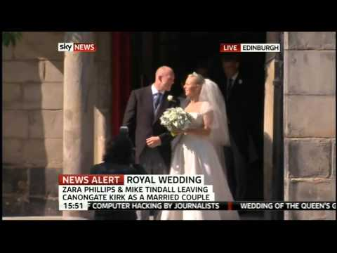 Zara Phillips and Mike Tindall - Husband and Wife