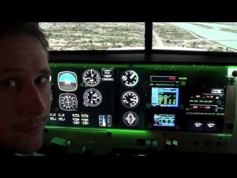 B & E Aviation's Redbird FMX Full Motion Flight Simulator