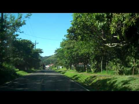 Narrated drive through Boquete Panama
