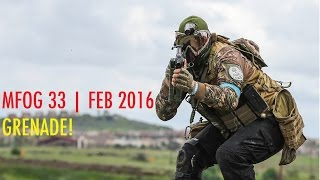 Grenade | MFOG 33 | Chaos Magfed Paintball | GoPro Paintball | Dye DAM
