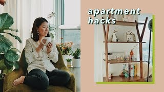10 Small Apartment Decorating Hacks & Tips