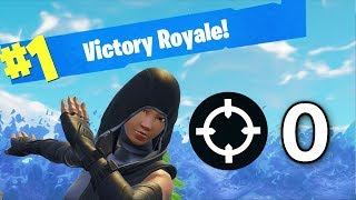 0 KILL WIN IN FORTNITE 🔥