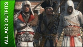 Assassin's Creed 3 Walkthrough - All Alternate Outfits