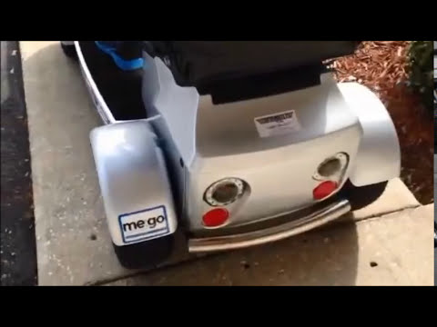 me:go Neighborhood Electric Vehicle with MP3 Player at Top Mobility Scooters