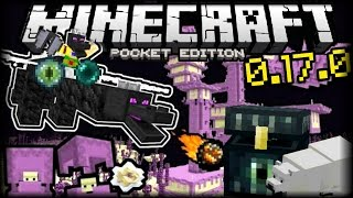 Minecraft PE 0.17.0 Review - Seeds Con Portal al End - Nuevos Mobs y Objetos! - Pocket Edition