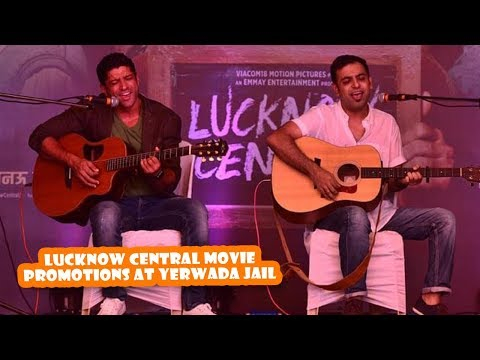 Lucknow Central Promotions At Yerwada Jail | Latest Bollywood Movies News 2017
