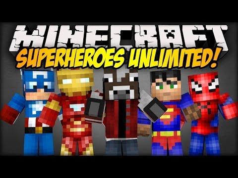 Minecraft Mod Showcase: ZOSTAŃ SUPERBOHATEREM! - SuperHeroes Unlimited