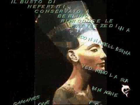 Nefertiti ,l'amore, appare nella pietra : è frutto del caso? Video