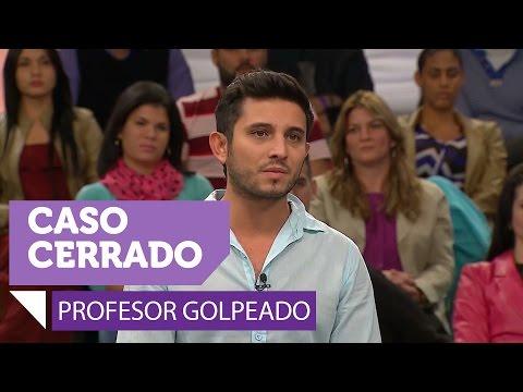 Profesor golpeado. Parte 1 de 3 de Caso Cerrado (VIDEO)