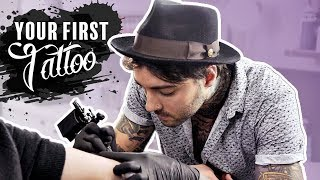 Getting Your First TATTOO: 5 Best Tips   by Tattoo Artist