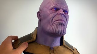 Thanos Sculpture Timelapse - Avengers: Infinity War